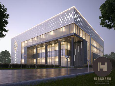 طراحی معماری مجتمع تجاری