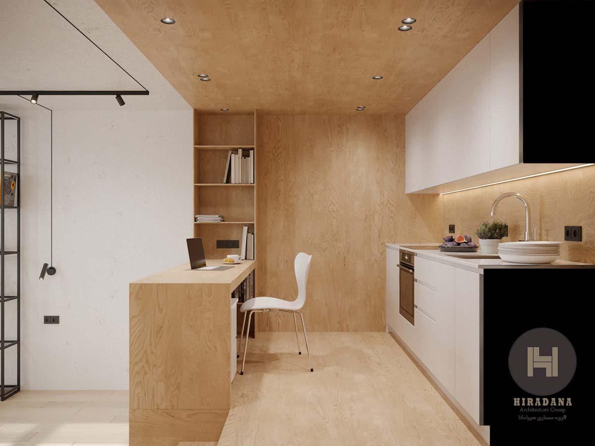 طراحی داخلی فضاهای کوچک به صورت شیک و منحصر به فرد