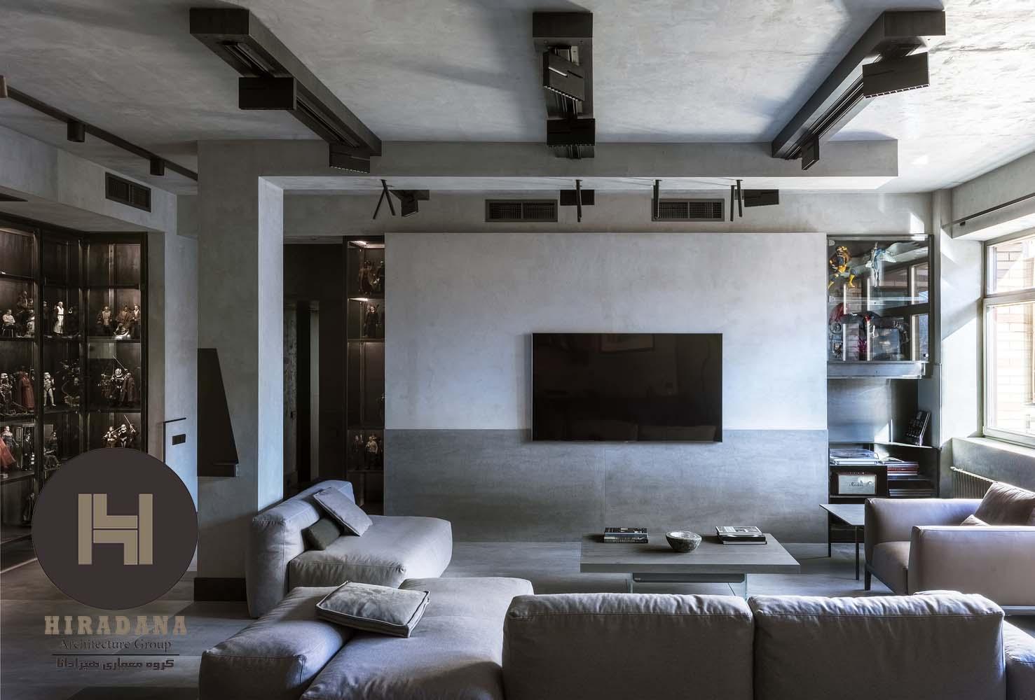 بازسازی منزل با استفاده از رنگ خاکستری