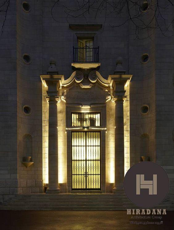 نورپردازی حرفه ای نمای ساختمان