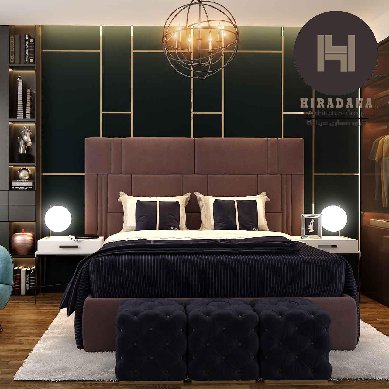 انتخاب رنگ مناسب برای طراحی دکوراسیون اتاق خواب