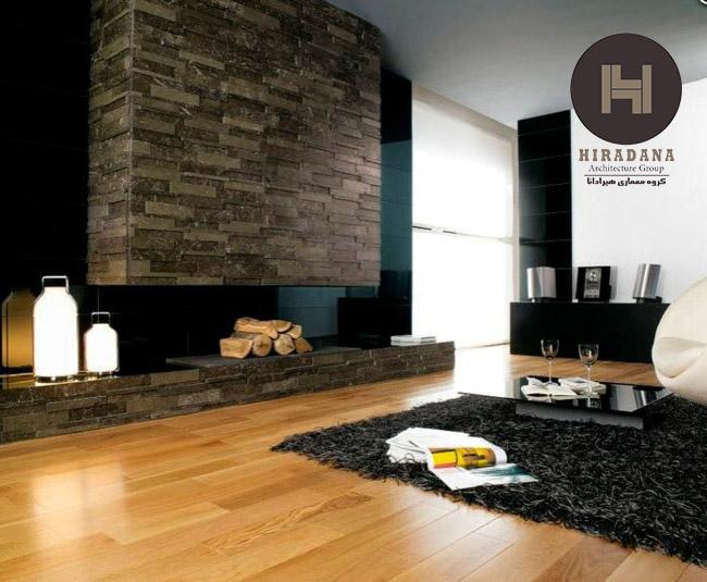 طراحی دکوراسیون دیوارها با استفاده از سنگ های طبیعی