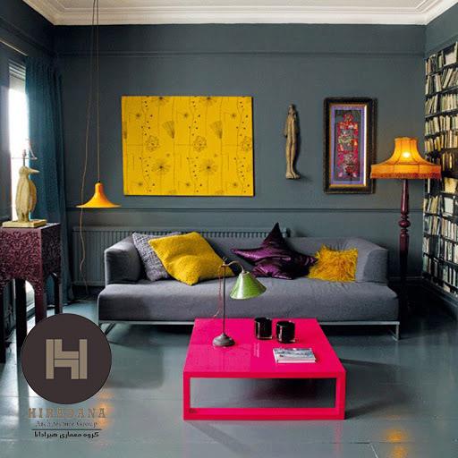 نقش رنگ در طراحی داخلی و دکوراسیون داخلی خانه