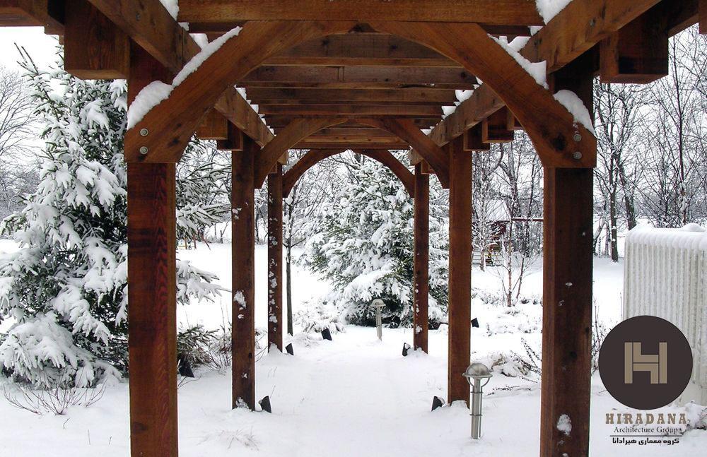 نکاتی در باره محوطه سازی در اقلیم سرد