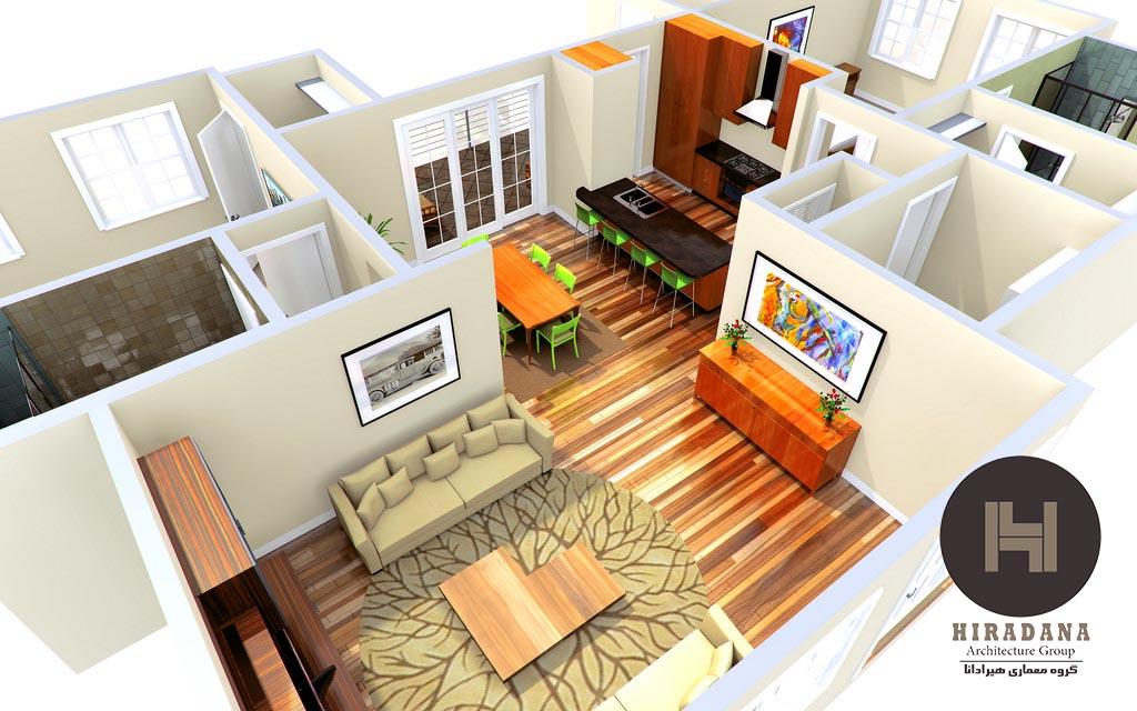 معماری داخلی و کاربردهای آن در زندگی روزمره