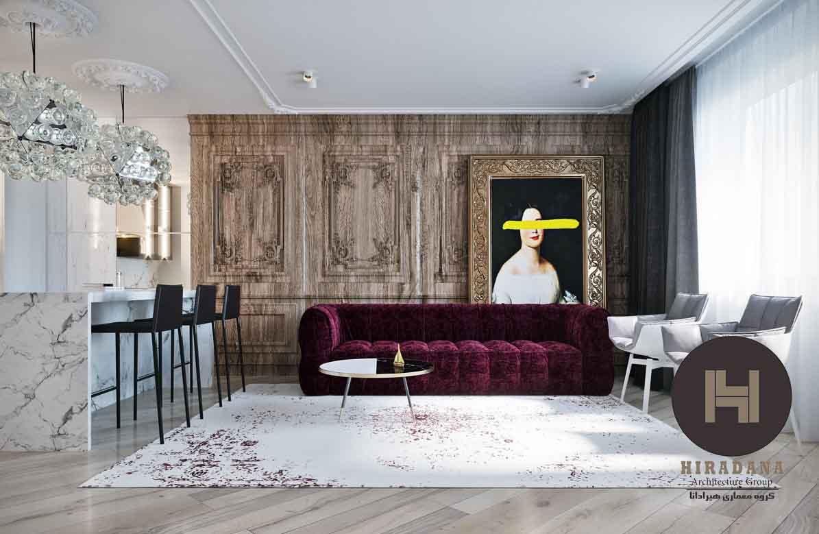 طراحی داخلی کلاسیک در ارومیه