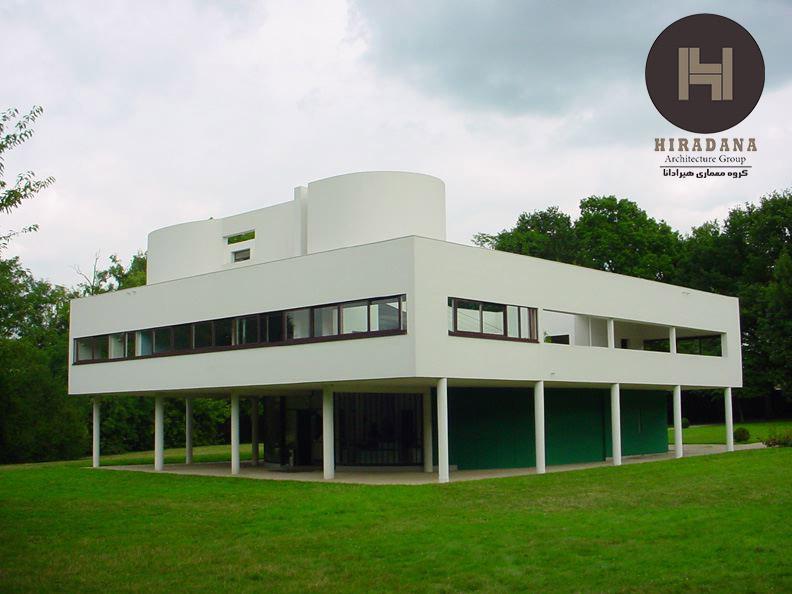 معماری مدرن و لوکوربوزیه