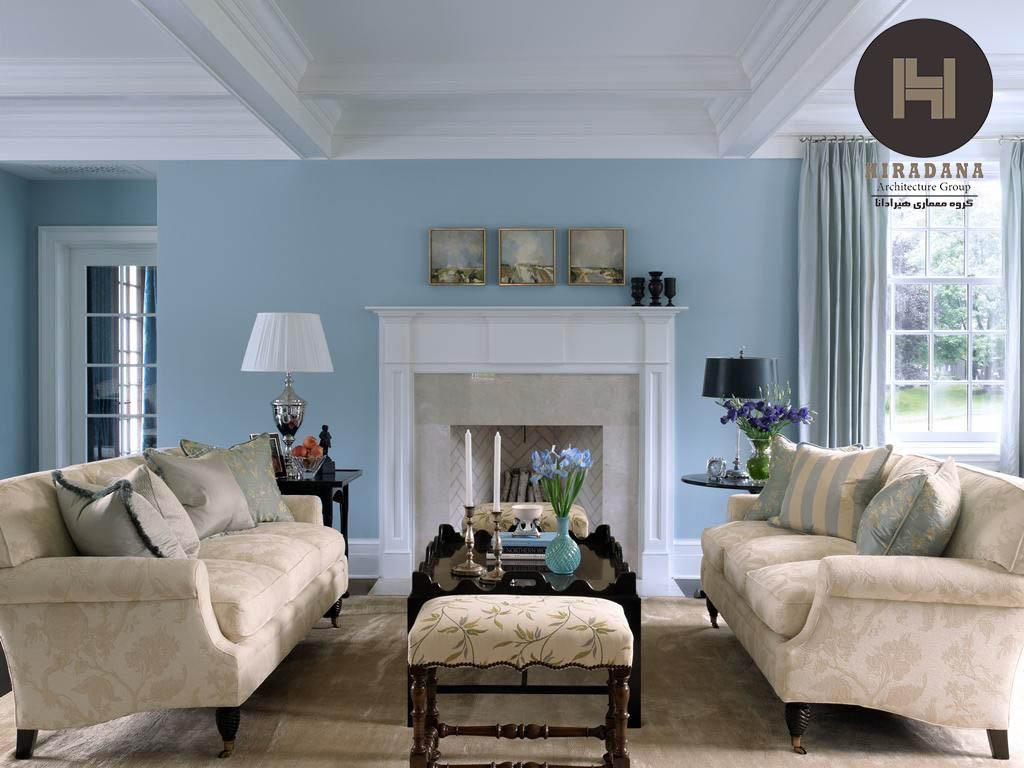 طراحی داخلی منزل با استفاده از رنگ کرم و مکمل های آن