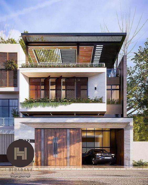 اهمیت و نکاتی درباره طراحی نما در ساختمان
