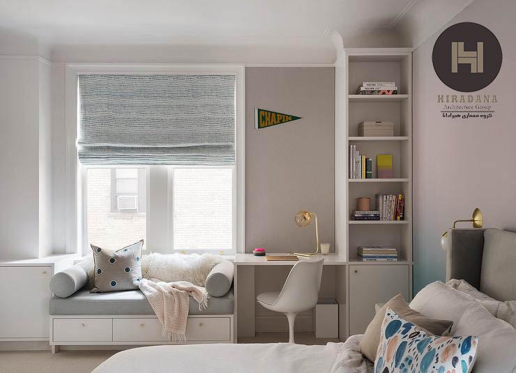 ایده هایی برای طراحی دکوراسیون داخلی اتاق خواب دختران نوجوان