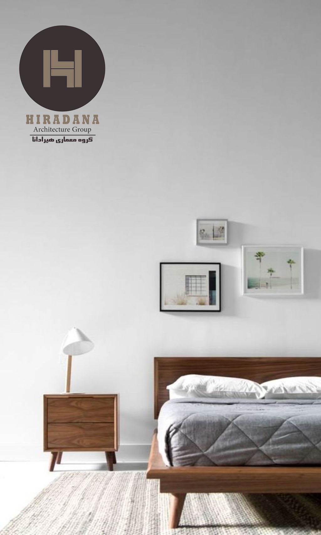 طراحی داخلی اتاق خواب های ساده و مینیمالیستی