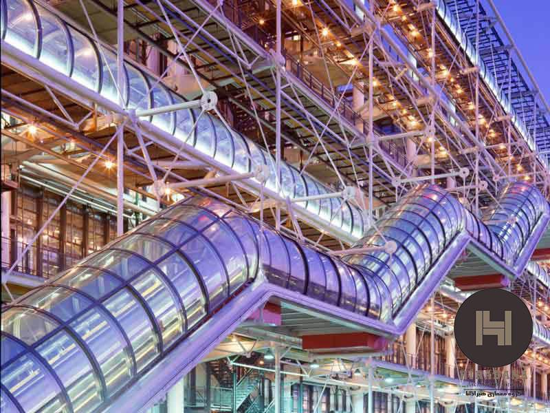 ساختمان ژرژ پمپیدو و معماری هایتک