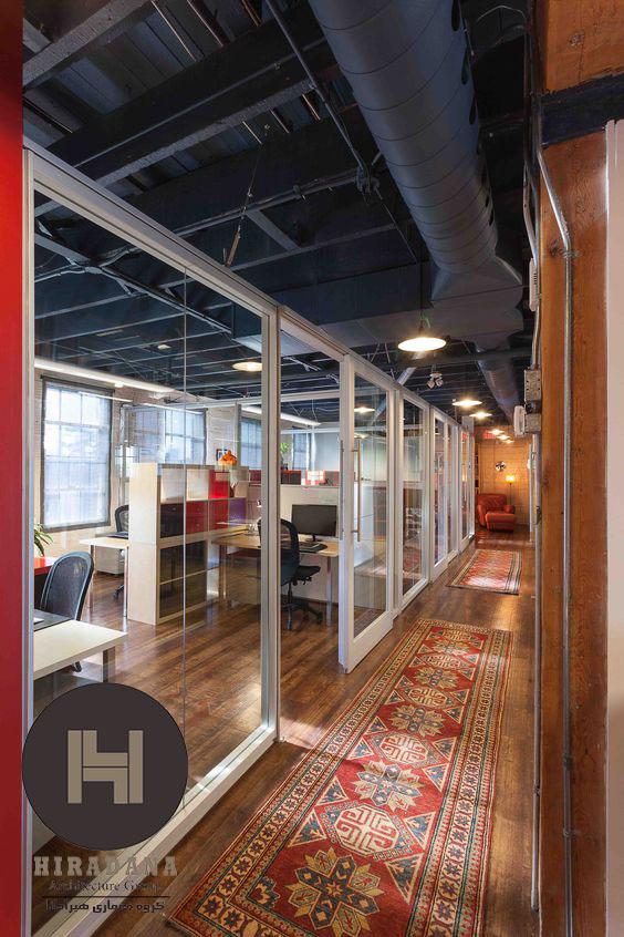 اصول طراحی و بازسازی دکوراسیون اداری