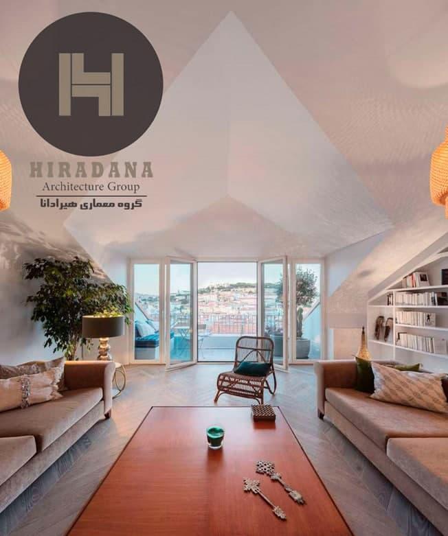 طراحی و بازسازی خانه ی ساگرامنتو در لیسبون پرتغال