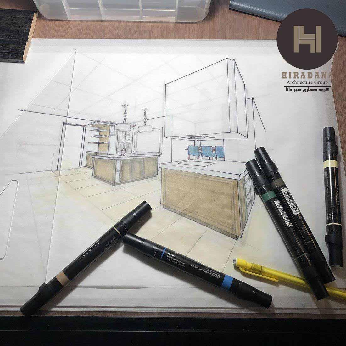 تفاوت طراحی داخلی با معماری و دکوراسیون داخلی