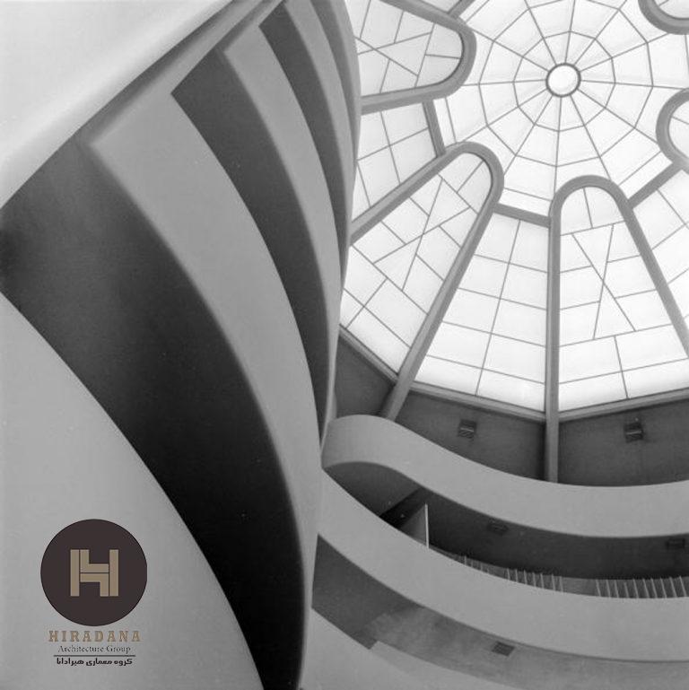 معماری و طراحی داخلی موزه گوگنهایم