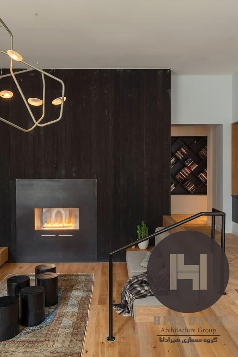 طراحی و دکوراسیون داخلی ساختمان درفیلادلفیا آمریکا