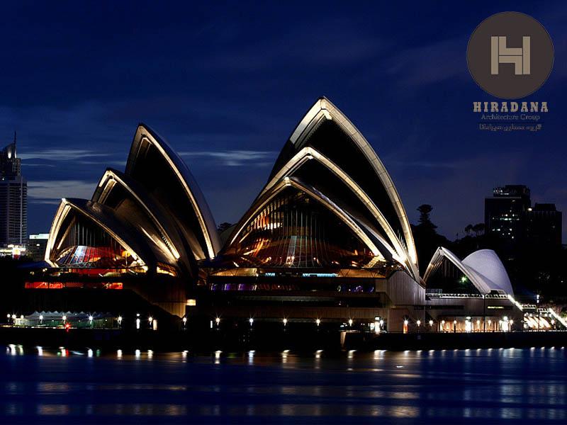 طراحی معماری خانه اپرای سیدنی