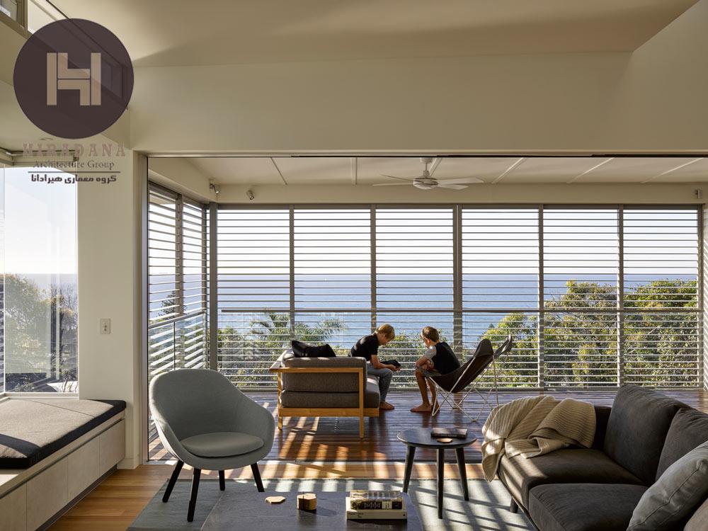طراحی فضاهایی با پنجره های بزرگ و سرتاسری