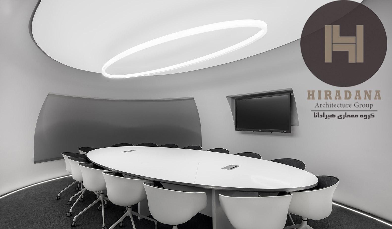 اجرا و طراحی داخلی اداری