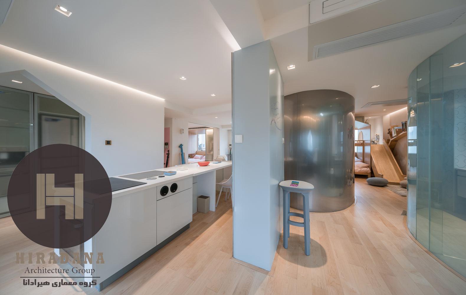 طراحی دکوراسیون اداری آشپزخانه