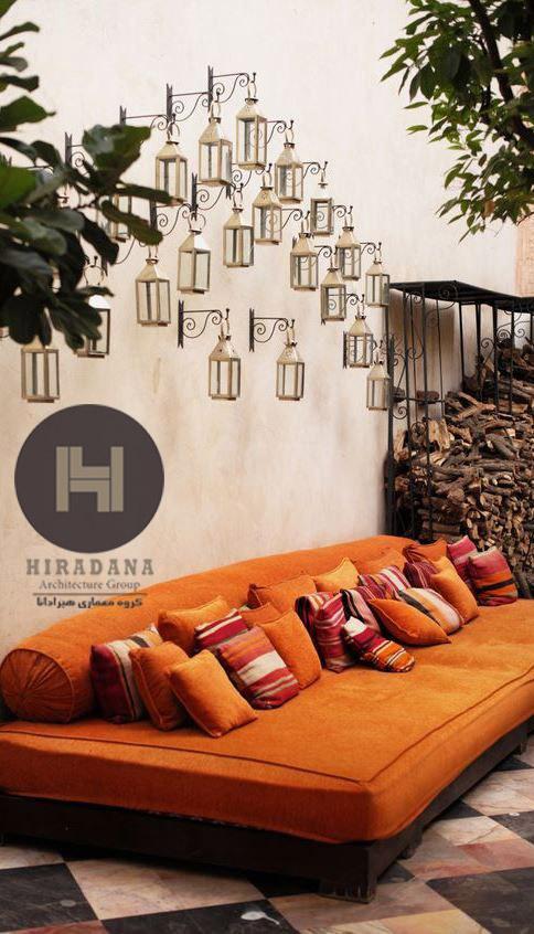 استفاده از لامپ ها و چراغ های سنتی