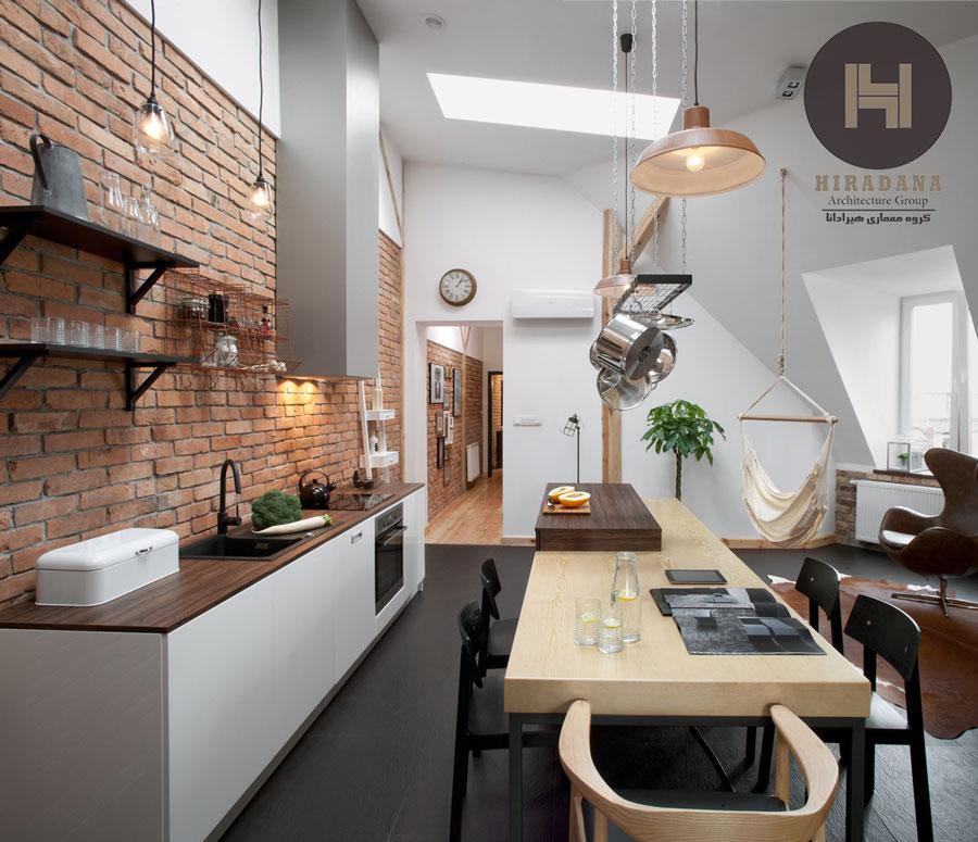 طراحی و بازسازی ساختمان با آجر دکوراتیو