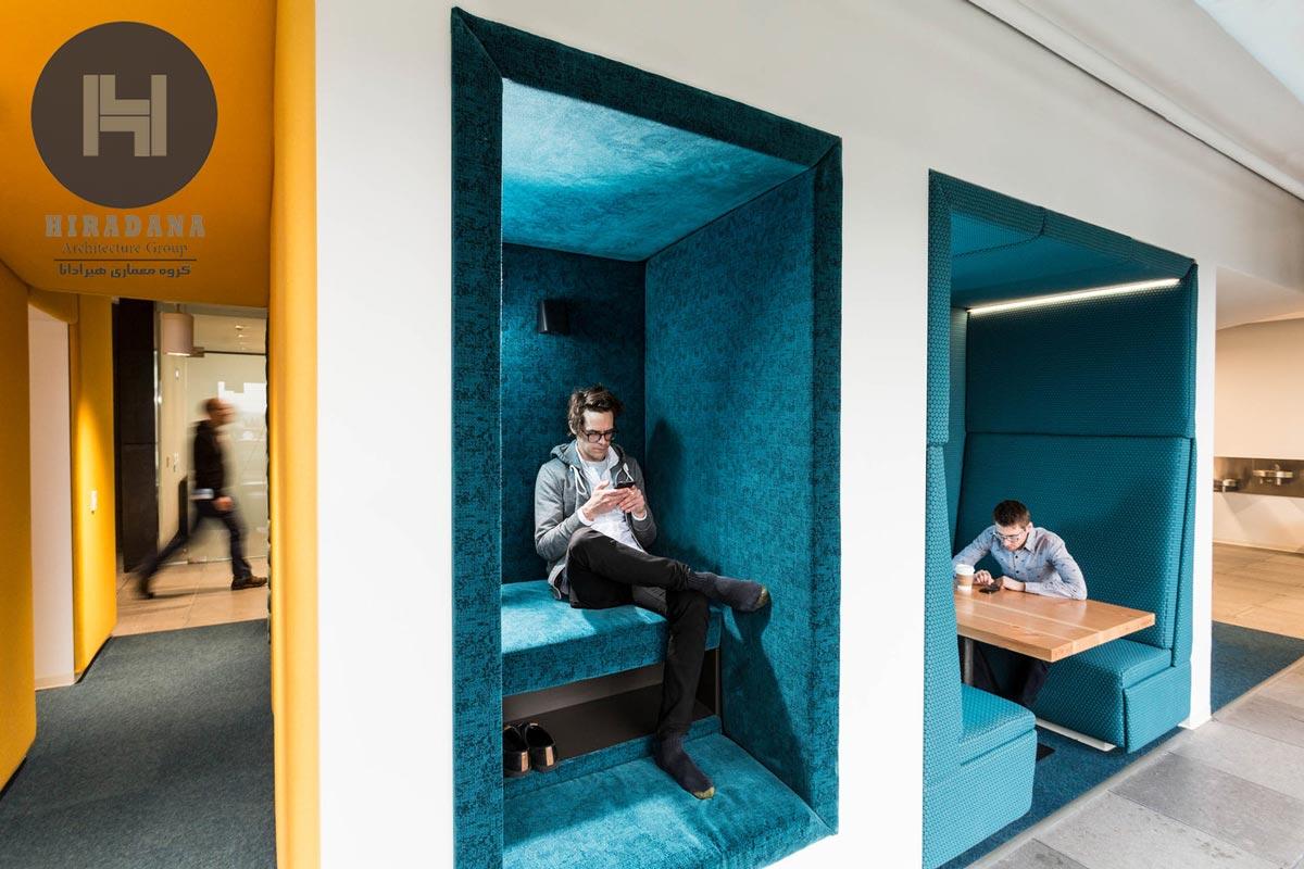 ایجاد فضاهای شخصی و خصوصی در محیط کار
