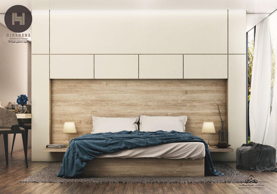 طراحی و دکوراسیون اتاق خواب مستر