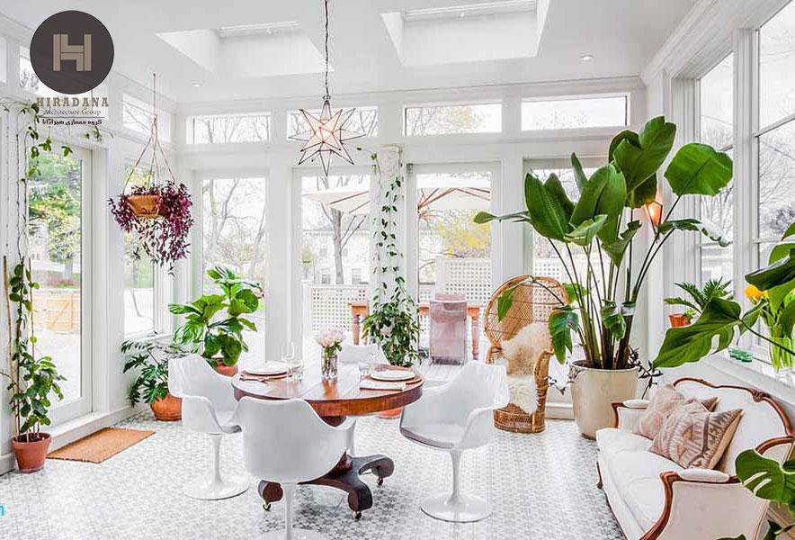 طراحی دکوراسیون داخلی با استفاده از گیاهان