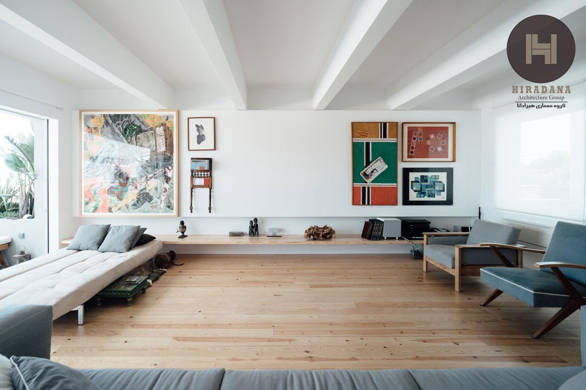 طراحی و بازسازی ساختمان قدیمی به شکل مدرن