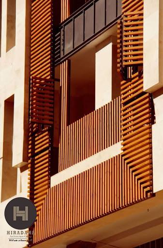 ترموود در طراحی داخلی و نمای ساختمان