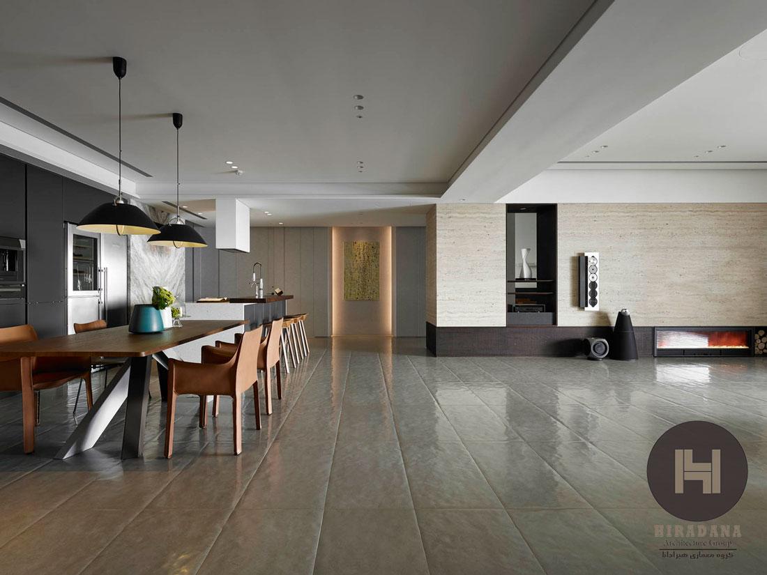 طراحی دکوراسیون داخلی مدرن و مینیمال