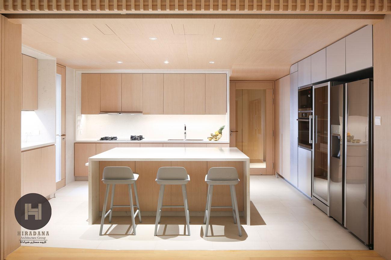 بازسازی ساختمان و دکوراسیون داخلی مدرن با چوب