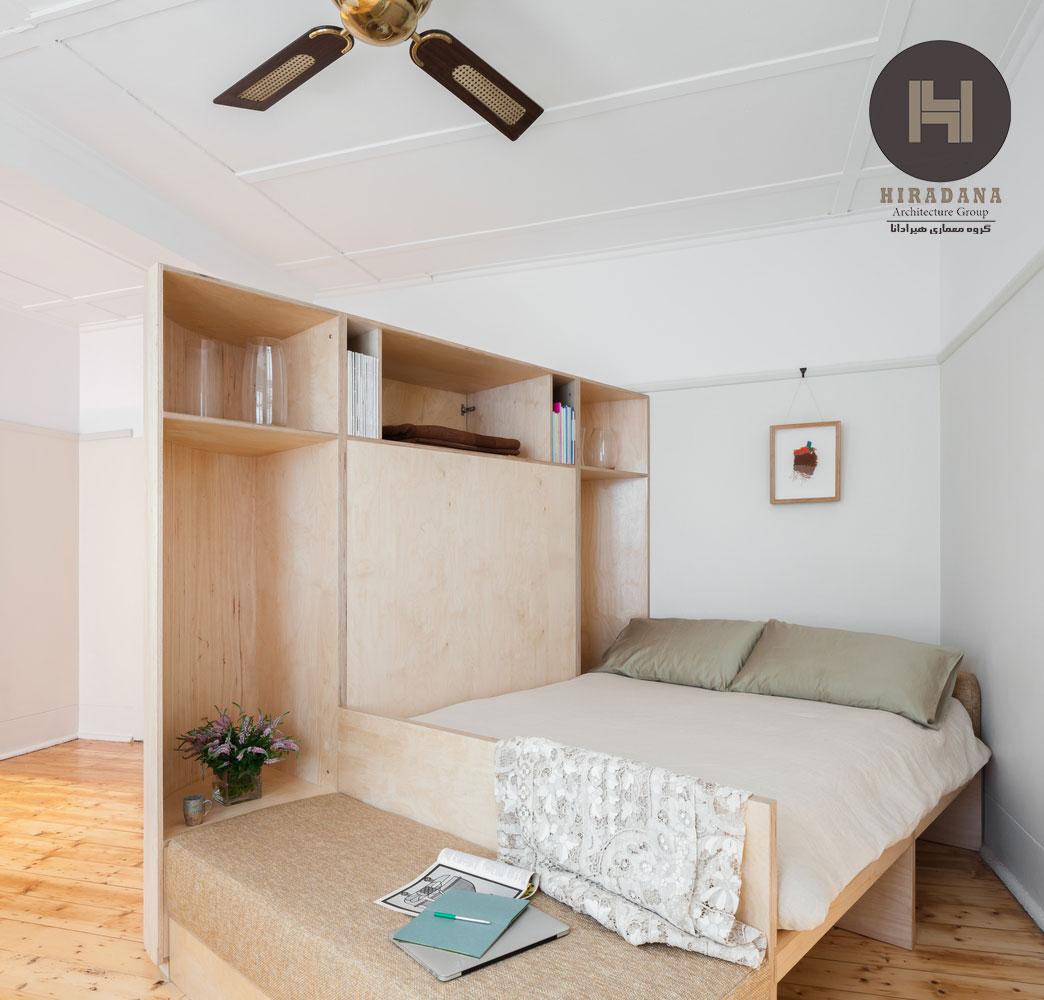 بازسازی و دکوراسیون داخلی آپارتمان کوچک