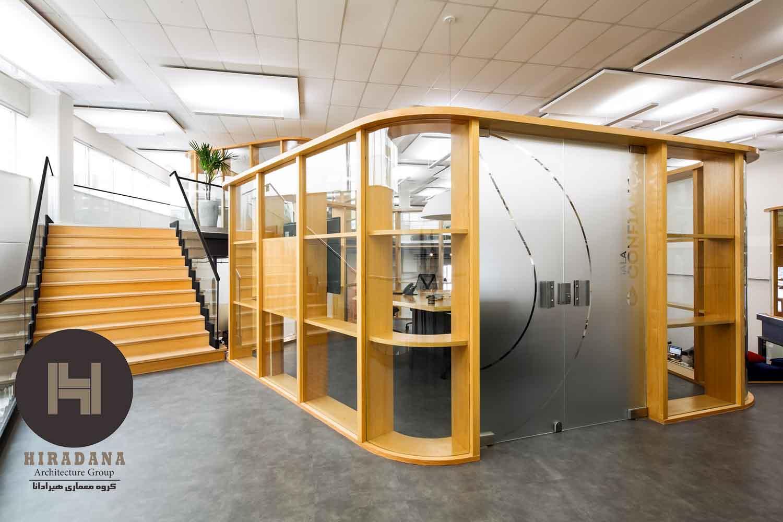 طراحی دکوراسیون اداری با ایده جدید