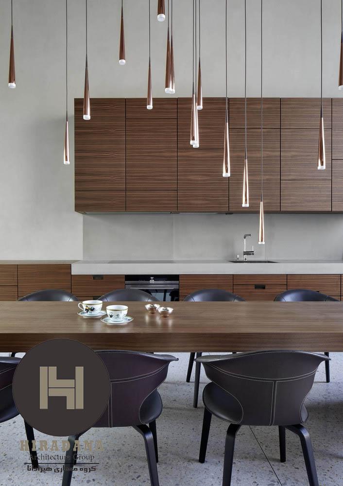 بازسازی منزل با مدرن با چوب