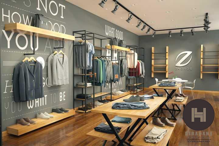 طراحی دکوراسیون مغازه به سبک کلاسیک
