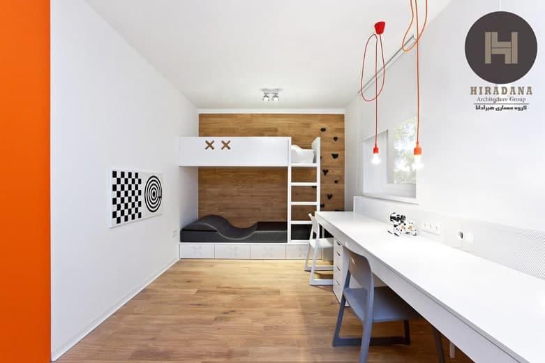 طراحی خاص واحد مسکونی در لهستان