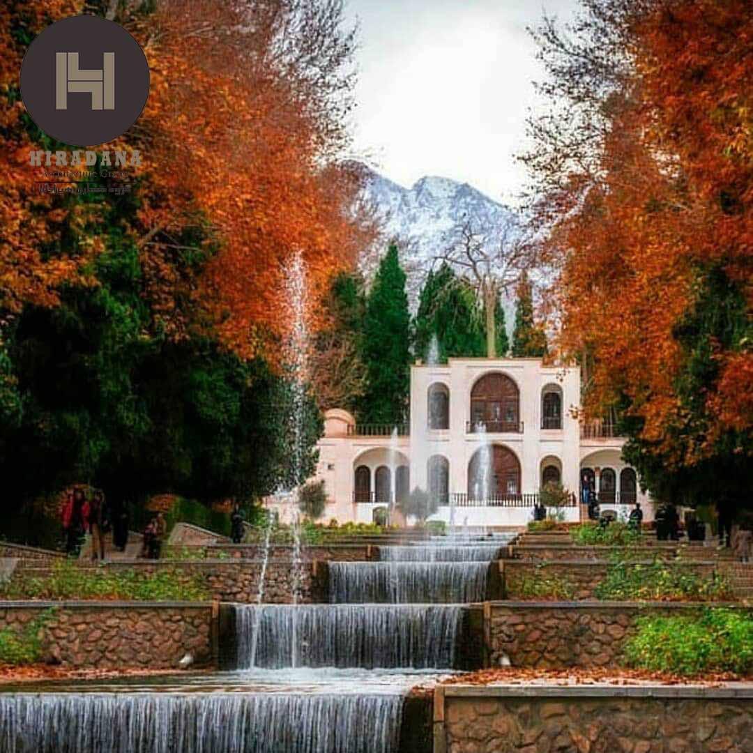 طراحی باغ ایرانی و ویژگی های آن