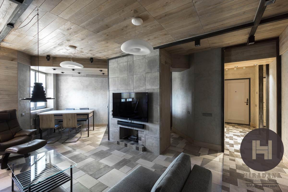 طراحی و بازسازی خانه در روسیه