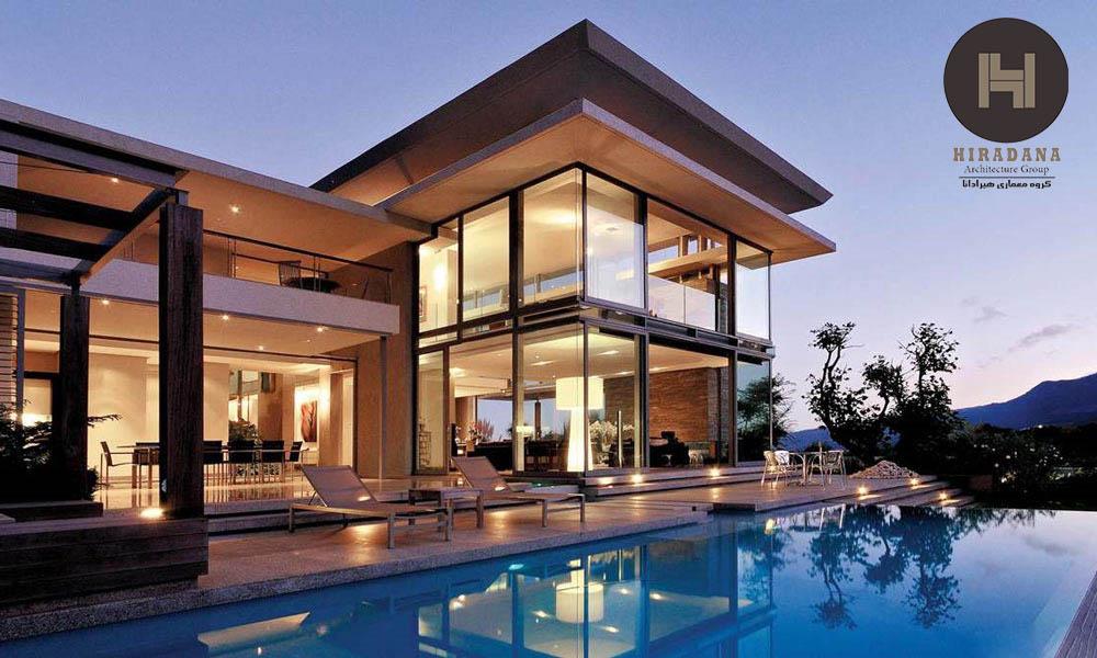 ویژگی های طراحی به سبک معماری مدرن
