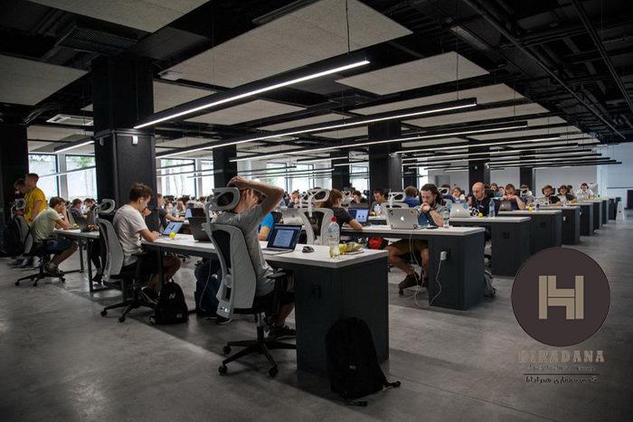 نکات طراحی فضای کار یک استارت آپ