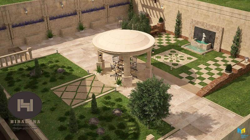 نکات مهم طراحی محوطه باغ ویلا