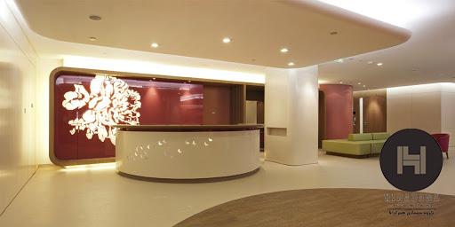 طراحی داخلی مطب زنان