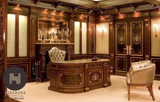 طراحی داخلی کلاسیک برای فضای اداری