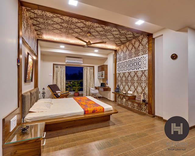 طراحی داخلی منزل به سبک هندی