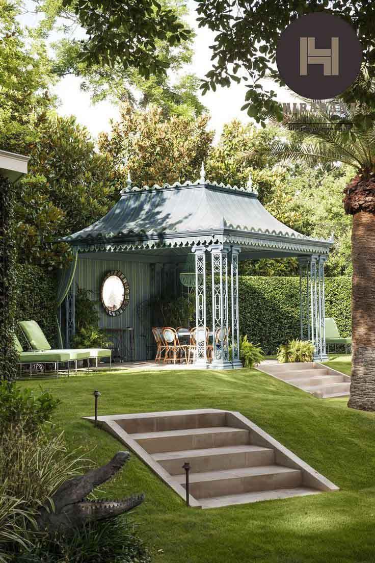 طراحی روف گاردن به سبک کلاسیک