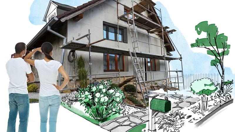 بازسازی ساختمان در جردن
