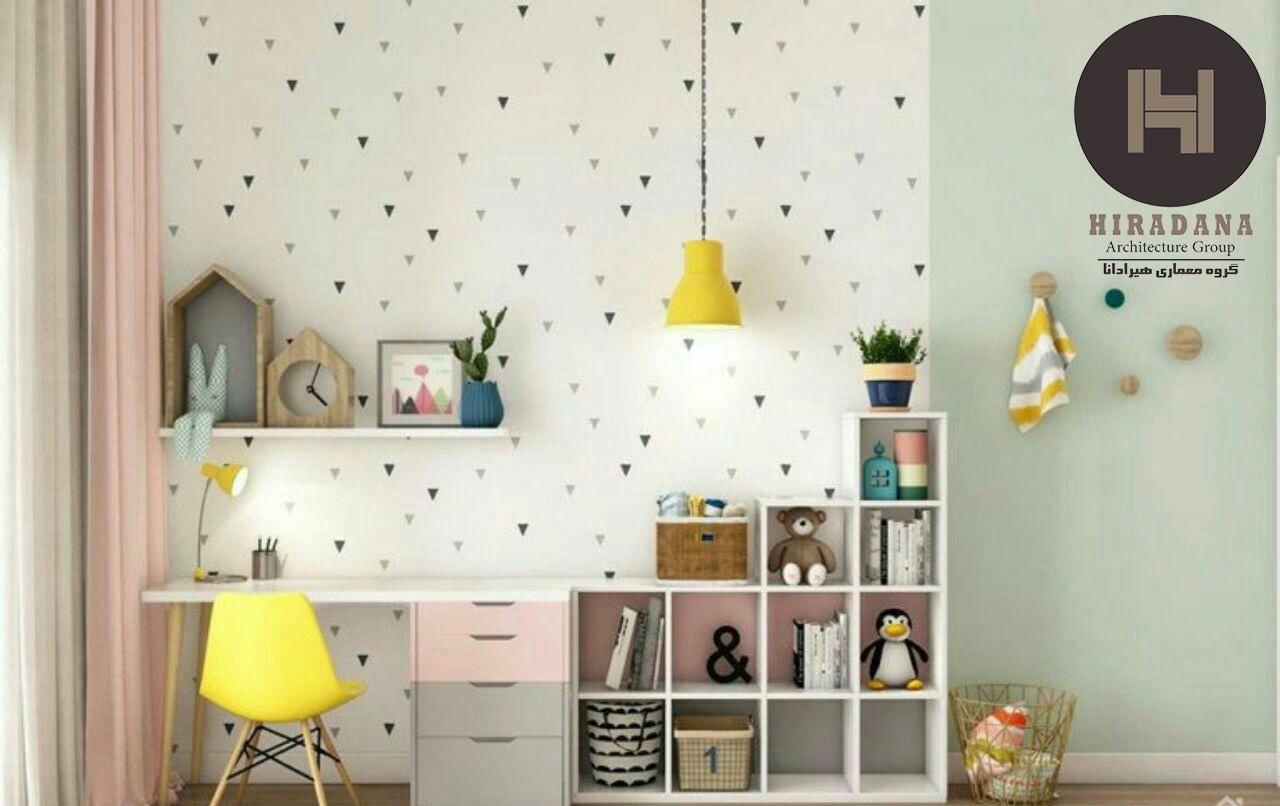 طراحی داخلی اتاق کودک و نوجوان